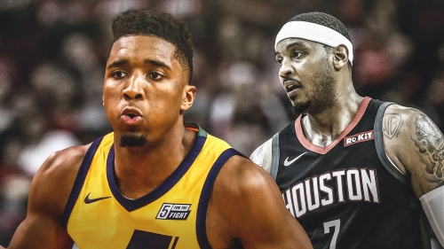 Jazz SG Donovan Mitchell joins Carmelo Anthony with dubious field goal-assists ratio