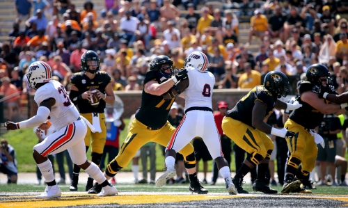 After getting the silent treatment, Mizzou offensive linemen surge