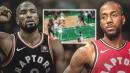 Video: Celtics defense allows Raptors' Kawhi Leonard to just walk into the lane to set up Serge Ibaka