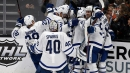 Rielly lifts Maple Leafs over Ducks to complete California sweep