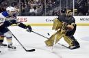 Blues beat Golden Knights 4-1 in Perron's return to Vegas
