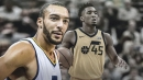 Rudy Gobert says Donovan Mitchell needs better decision making after dreadful shooting night