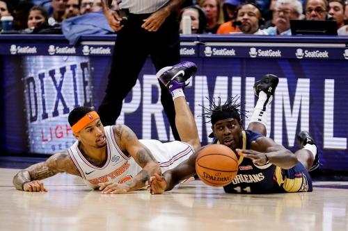"""Pelicans 129, Knicks 124: """"Word."""""""