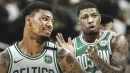 Marcus Smart's aggressiveness on offense has become Boston's barometer