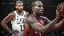 Kyrie Irving hurls praise toward Kawhi Leonard