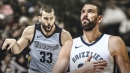 Marc Gasol becomes all-time franchise leader in rebounds