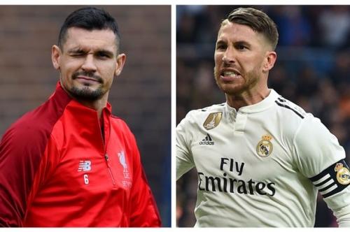 Virgil van Dijk wades into Liverpool star Dejan Lovren's row with Sergio Ramos