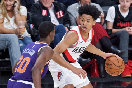 Anfernee Simons Ready to Make a Dent in Blazers Rotation