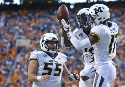 Mizzou throttles Tennessee for seventh win