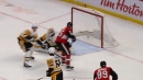Matt Duchene flies past Penguins defence and beats Murray