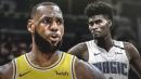 Video: LeBron James is the latest All-Star victim of Magic forward Jonathan Isaac's block