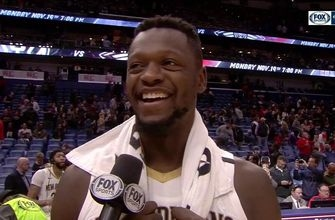 Julius Randle on Playing with Davis, win over Denver