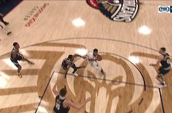 HIGHLIGHTS: Pelicans up by 10 after this Julius Randle DUNK