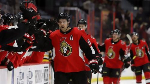 Stone, Duchene each score twice to lead Senators over Penguins