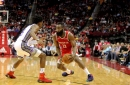 Rockets' big 3 lead the way in 132-112 blowout of the Kings