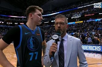 Luka Doncic on the Mavs defense in win over Golden State
