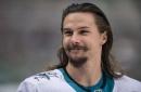 Highlight: Erik Karlsson scores first goal as a Shark