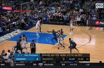 HIGHLIGHTS: Luka Doncic, Harrison Barnes lead Mavs past Warriors