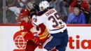 Lindholm's two third-period goals help Flames beat Oilers