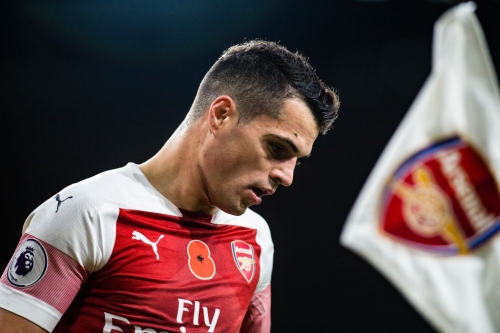 Granit Xhaka credits Arsenal boss Unai Emery with taking his game to a new level
