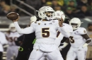 Oregon holds off late Arizona State rally to win 31-29