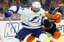 NHL roundup: Anthony Cirelli lifts Lightning to wild win over Flyers