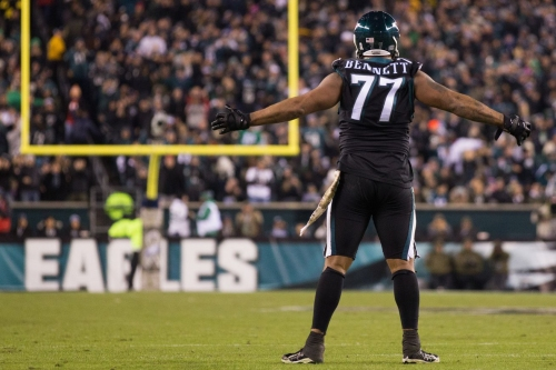 The Linc - Michael Bennett is becoming more vocal in the Eagles' locker room