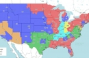 2018 NFL Distribution Map: Will you see Steelers vs. Jaguars in Week 11