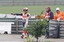 Dovizioso wins rain-affected Valencia MotoGP