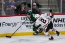 Following a tough loss, the Wild go right back to work against the Blackhawks