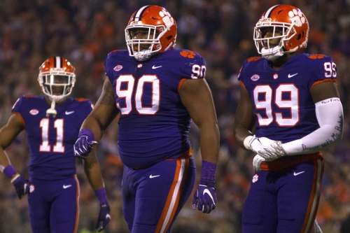 Eagles should be keyed in on Clemson Tigers' defensive line