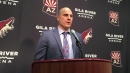 Rick Tocchet on what was missing in Coyotes' 2-1 loss to the Bruins