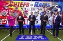 The NFL on FOX Kickoff Crew breaks down the Tale of the Tape for Chiefs vs. Rams
