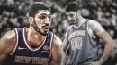 Knicks' Enes Kanter not happy with playing time