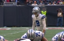 Brett Maher drills 42-yard field goal to give Cowboys 22-19 win over Falcons