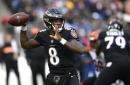 Jackson carries 27 times, lifts Ravens past Bengals 24-21
