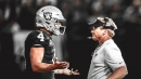 Jon Gruden, Derek Carr get into argument on Raiders' sideline