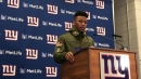 Giants' Saquon Barkley on challenge to get better, run harder
