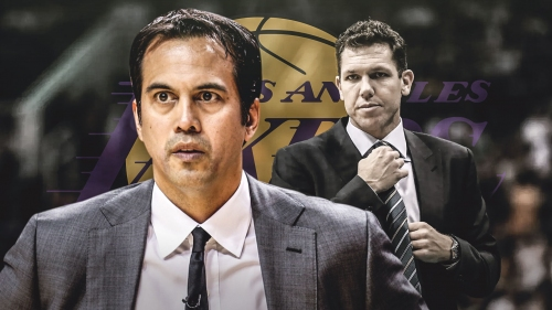 Heat coach Erik Spoelstra thinks Luke Walton is 'perfect guy' to coach Lakers