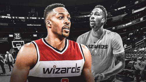Wizards' Dwight Howard exits Blazers game with injury