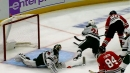 Saad turns Dumba inside-out to score for Blackhawks
