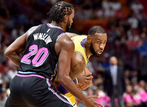 LeBron James Breaks Kobe Bryant's Lakers Franchise Record With 51 Points Against Heat