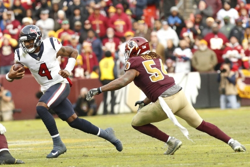 Rapid Reaction: Washington Unable To Overcome Early Struggles In Loss To The Texans