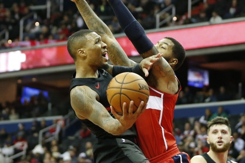 Another 40 from Damian Lillard Pushes Blazers Past Wizards
