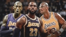Lakers star LeBron James joins Kobe Bryant, Kareem Abdul-Jabbar in exclusive stat club