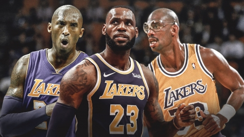 Lakers star LeBron James joins Kobe Bryant, Kareem Abdul-Jabbar in exclusive stat club