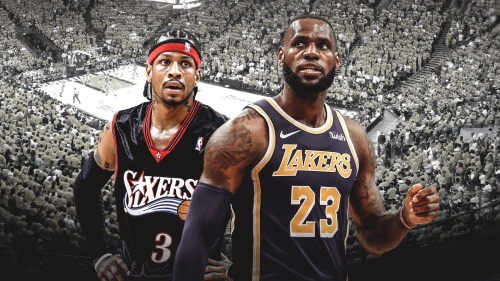 Lakers star LeBron James moves past Allen Iverson with 6th most 50-point games ever