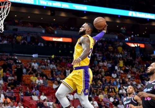 Lakers Highlights: LeBron James Scores 51 Points Against Heat, Kentavious Caldwell-Pope Leads Bench Attack