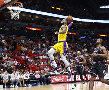 NBA roundup: LeBron James scores 51 points, Lakers beat Heat