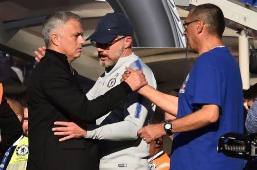 Manchester United manager Jose Mourinho given 'extraordinary' praise by Chelsea boss Maurizio Sarri